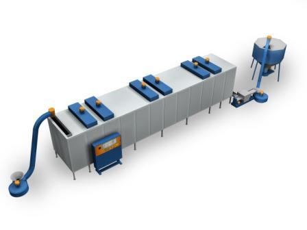 Купить Комплекс конвейерного сушильного оборудования