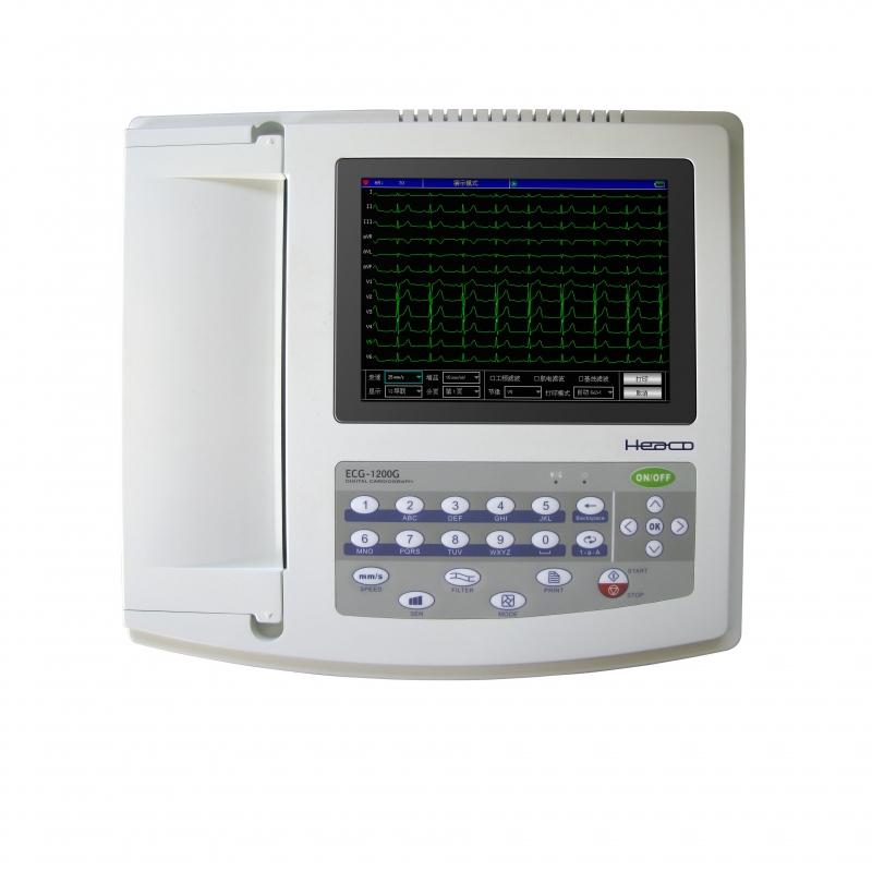 12 канальный электрокардиограф HEACO ECG1201