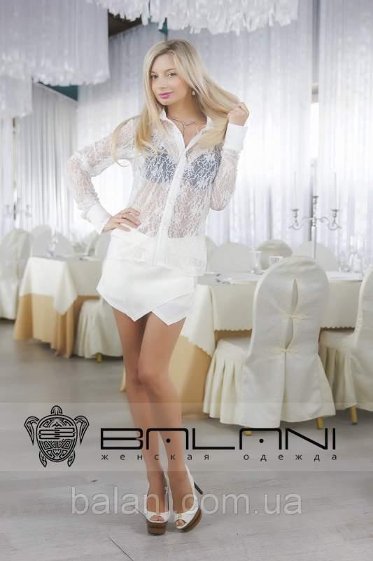 b96758ddb7b Женские рубашки РУБАШКА ГИПЮРОВАЯ БЕЛАЯ купить в Одессе