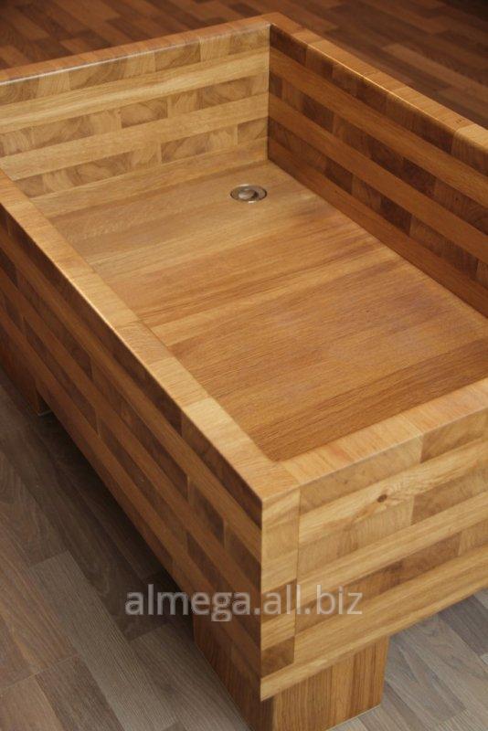 Поддон для душа деревянный