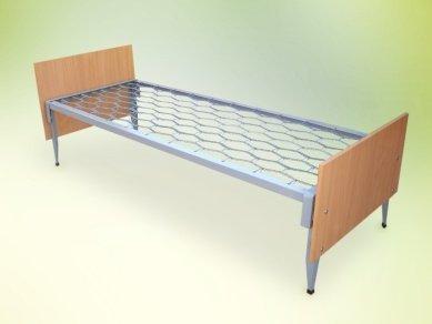 Купить Кровать комбинированная со спинками ОДСП для общежитий, казарм
