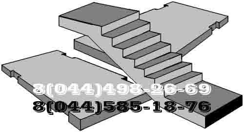 Ступени лестничные, марши, лестницы и другие железобетонные изделия