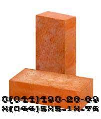Кирпич керамический рядовой М75, М100, М125, М150