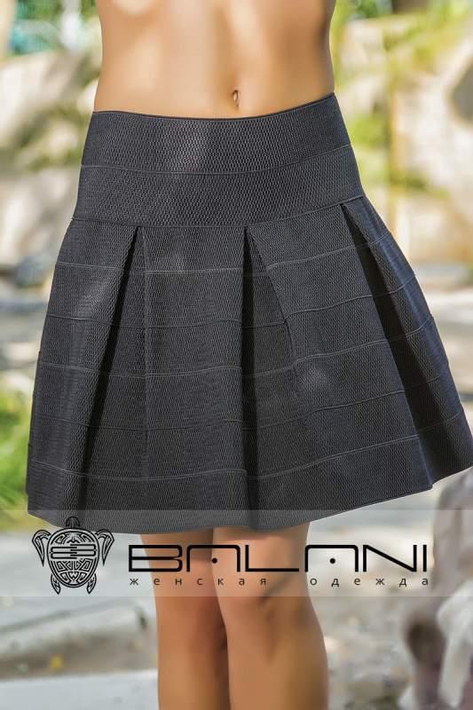 Черная юбка резинка купить