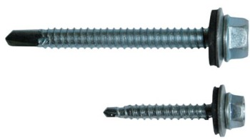Screw for fastening
