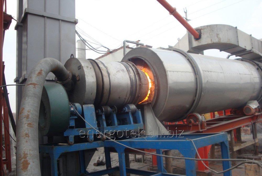 Kurutma için ısı jeneratörler, katı yakıt ısı kaynağı.