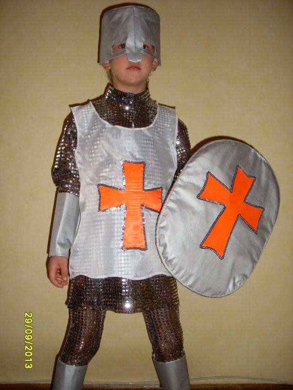 Как сделать ребенку костюм рыцаря - ПОРС Стройзащита