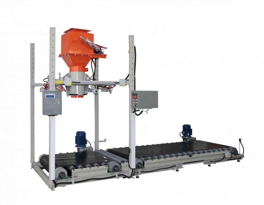 Купить Дозатор для сыпучих продуктов в мешки «Биг-Бег» с отводом мешка СВЕДА ДВС-301-1000-1-П