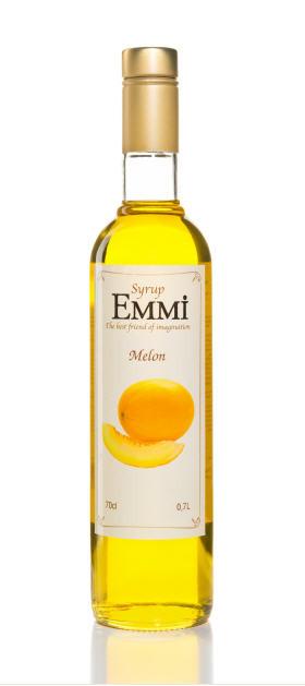 Сироп для коктейлей Дыня ТМ EMMI (Емми)