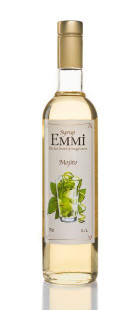 Сироп для коктейлей Мохито  ТМ EMMI (Емми)
