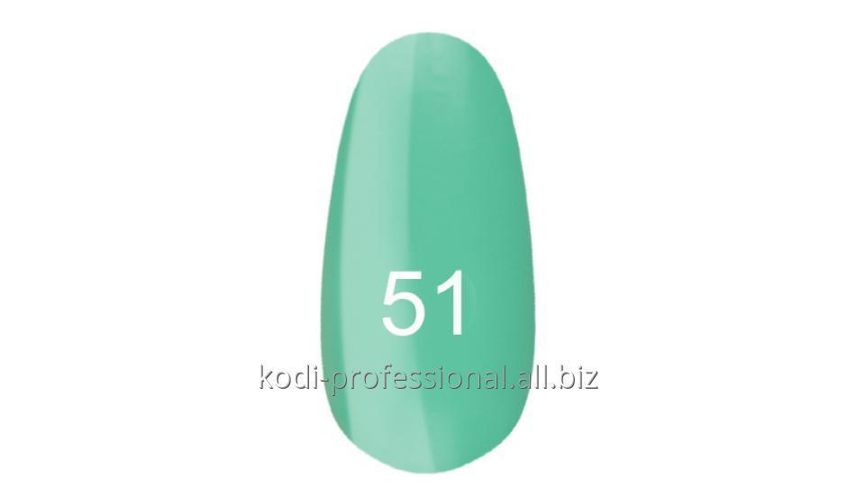 Лак для ногтей Kodi professional № 51