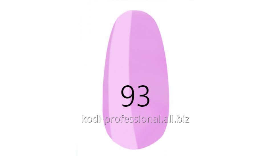 Лак для ногтей Kodi professional № 93