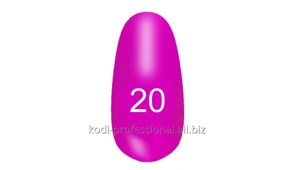 Лак для ногтей Kodi professional № 20