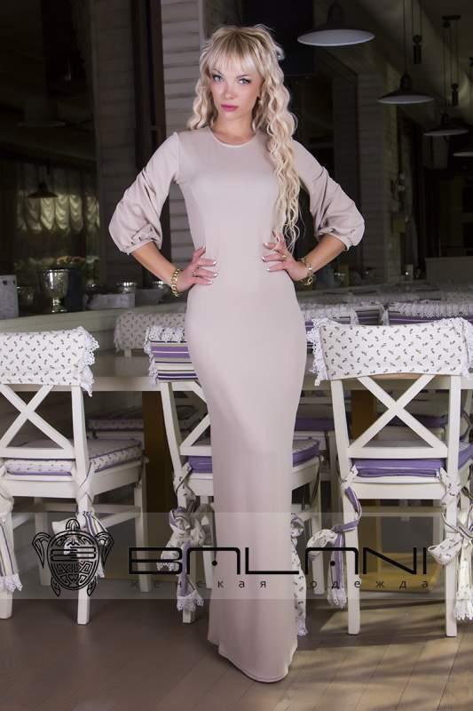 Довге плаття Плаття в підлогу 190 НА   бежеве купити в Одеса ff1b05f697a36