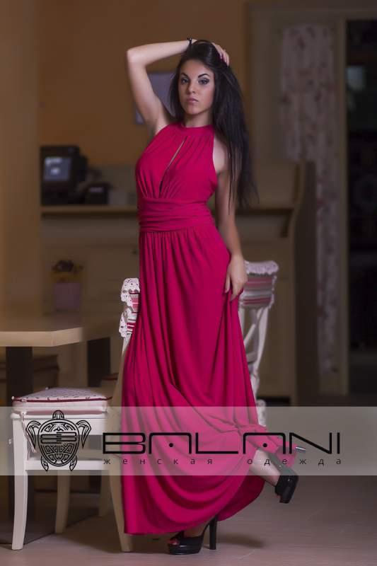 Трикотажні плаття Плаття малина (194 Л) купити в Одеса 97fbf96f429e6
