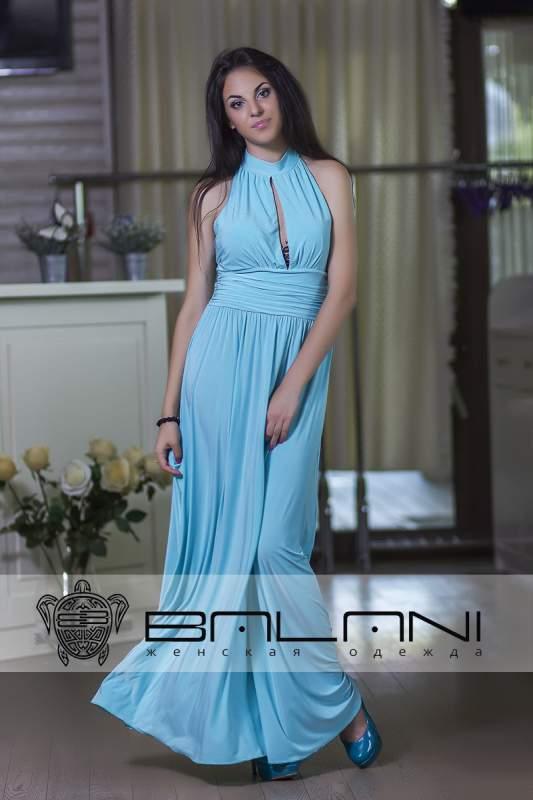 Довге плаття Плаття блакитне Код  194 Л купити в Одеса 7d04e0f420781