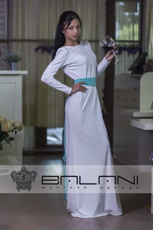 Довге плаття Плаття біле c8e6203b76483