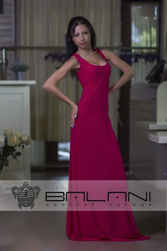 Довге плаття Плаття малина (293 А2) купити в Одеса 5c54fd9bf320e