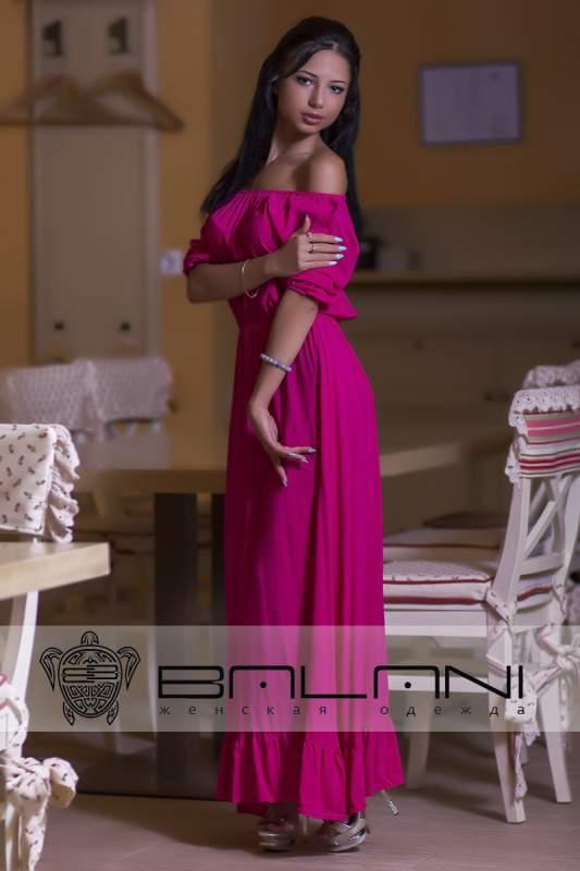 Довге плаття Плаття-Довге Сафарі малиновий купити в Одеса 7850a0908bf2b