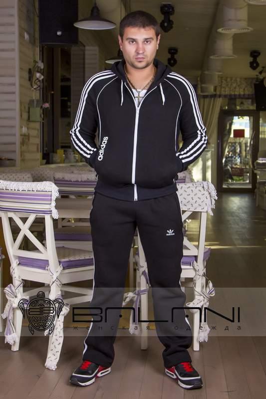 Мужская одежда Мужской спорт костюм Adidas (720 АР)  черный купить в ... ca95f5c7af1