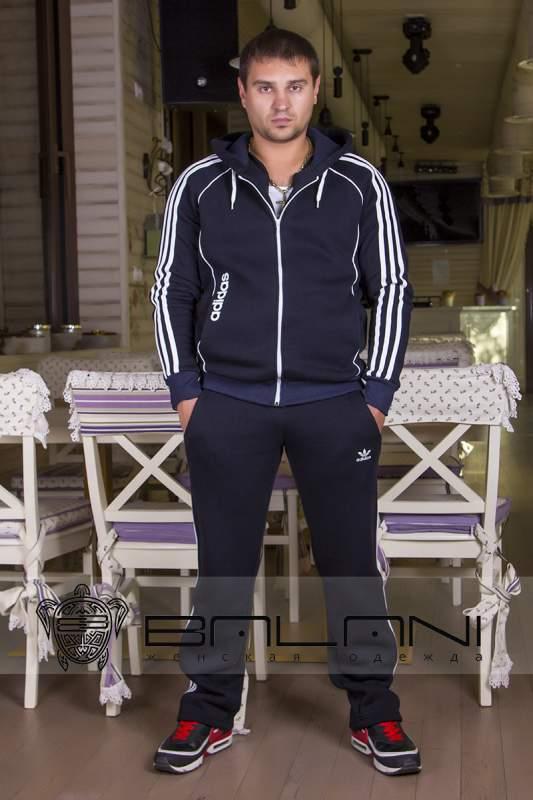 01d5847b2c39 Мужская одежда Мужской спорт костюм Adidas (720 АР) темно-синий ...