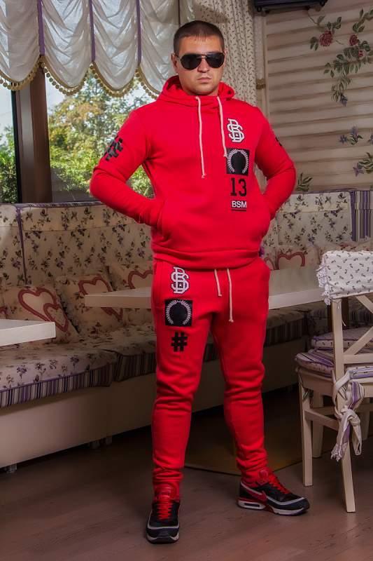 Чоловічий одяг Чоловічий спорт костюм BS (306 ДП)   теплий  червоний ... 60811bcd88e05