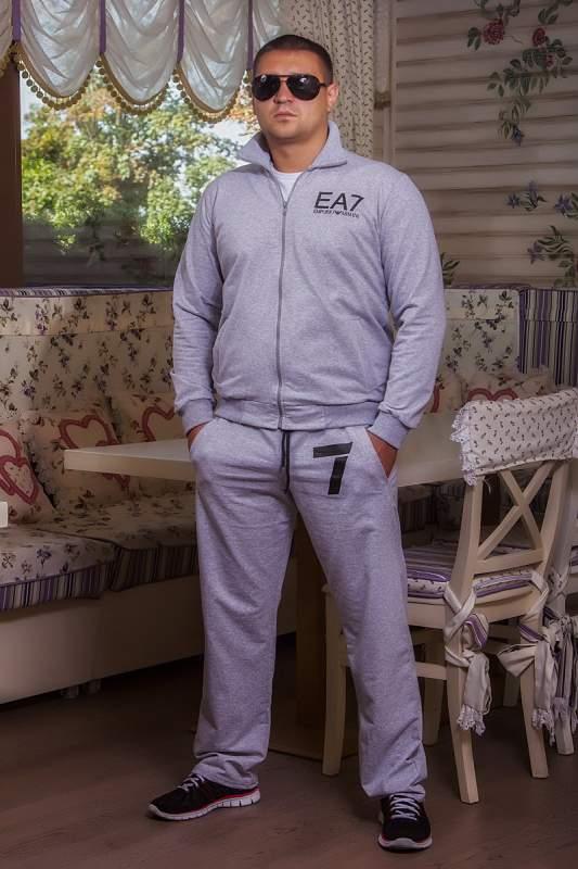 c3133d732749 Мужская одежда Мужской спорт костюм Armani (358 ДП)  серый купить в ...