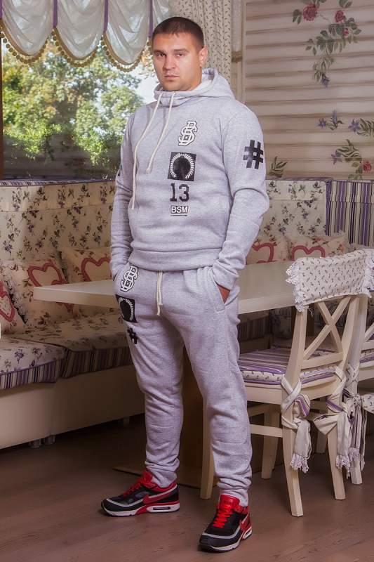 0a4e05a2cd3e Мужская одежда Мужской спорт костюм BS (306 ДП)   теплый  серый ...