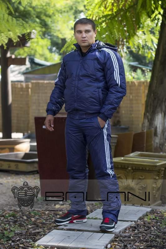 280fd84388a9 Мужская одежда ДАННУЮ МОДЕЛЬ ЖДАТЬ ОТ 5 ДО 10 ДНЕЙ Мужской спорт костюм  Синтепон (51 А4)  темно-синий