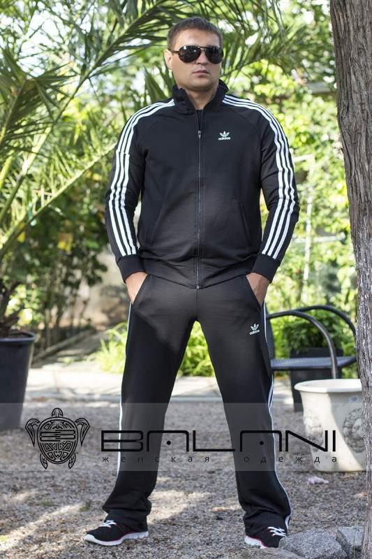 Мужская одежда Мужской спорт костюм Adidas (710 АР)   черный купить ... 655f5a0b8fe