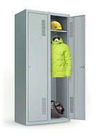 Купить Шкаф металлический для одежды ОД-300/2(1800х600х500)