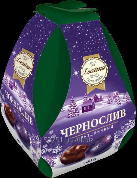 Конфеты шоколадные Чернослив в шоколаде
