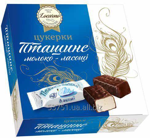 Конфеты шоколадные Птичье молоко