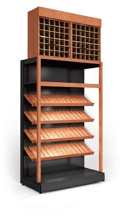 Rack for elite wines