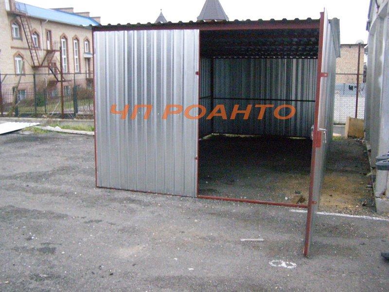 Гаражи металлические разборные 9200,00 грн!!!! АКЦИЯ!!!