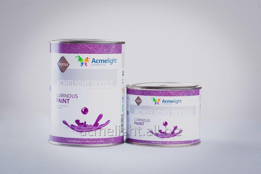 Купити Acmelight Textile1л. - самосвітна фарба на пластизолевой основі для печатки по текстилю