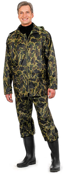 PVH+ suit Nylon camouflage