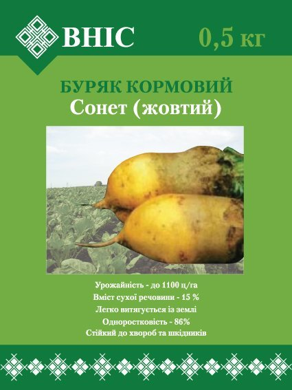"Seeds of fodder beet grade ""Olzhich"