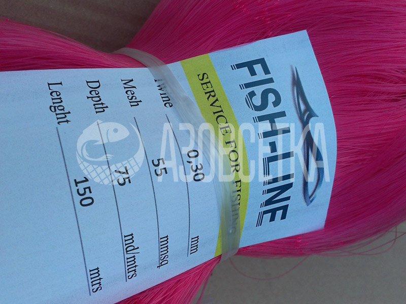 Полотно сетевое Fish-Line, 60х0,30х75х150