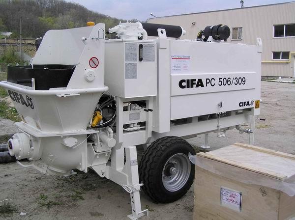 Стационарный бетононасос CIFA 506