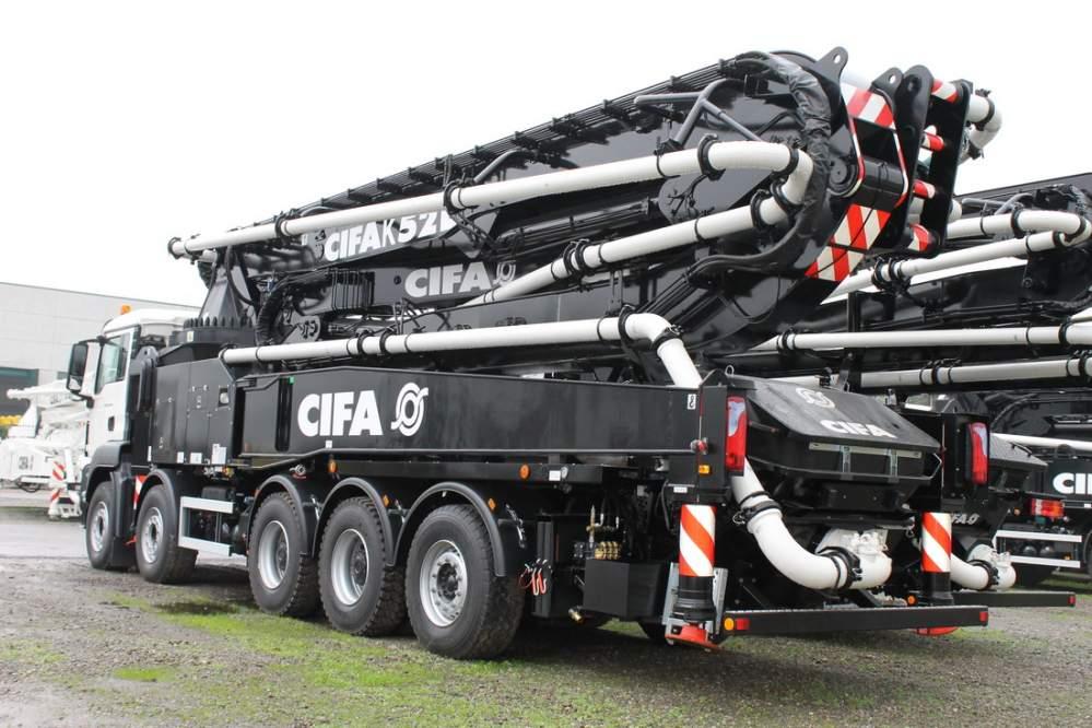 Автобетононасосы CIFA,бетононасосные установки,бетононасосы CIFA