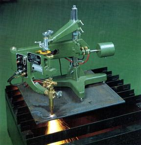 The mechanized gas cutting of KOIKE firm