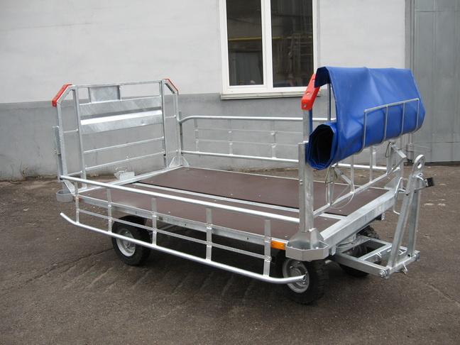 Тележка багажная ТЛ-48