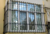 Buy The lattices forged on windows in Zhytomyr and with delivery across Ukraine qualitative and strong for reasonable prices, the decor elements forged the house furniture forged Ukraine