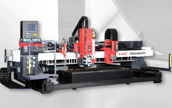 Equipment for gas-plasma cutting of KOIKE. Industrial equipment for high-performance cutting.