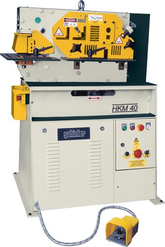 Hydraulic shearing press of HKM 40. One-piston a press - scissors