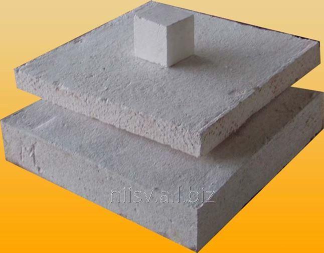Buy Insulating panels type PTMC-Ko 300.Voloknistye materials from fiber mullitokremnezёmistogo