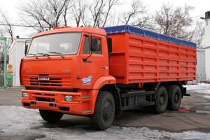 Купить Зерновоз – самосвал КАМАЗ 6520 МЕЛОС-ЦЕНТР