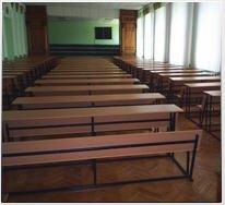 Купить Мебель для учебных учреждений-столы, парты и лавки учебные, аудиторные. Мебель специализированная для кабинетов химии, физик.