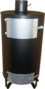 Буржуйка ДП-8 предназначена для отопления помещений